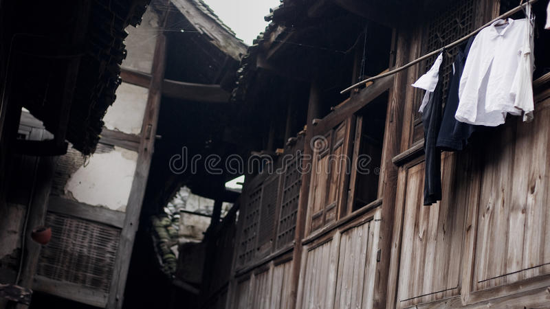 Download Old China Town Tile-roofed House Royalty Free Stock Images - Image: 11550459