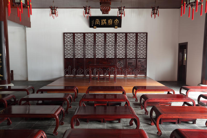 Download Old Chinese classroom stock image. Image of asia, classroom - 18356969