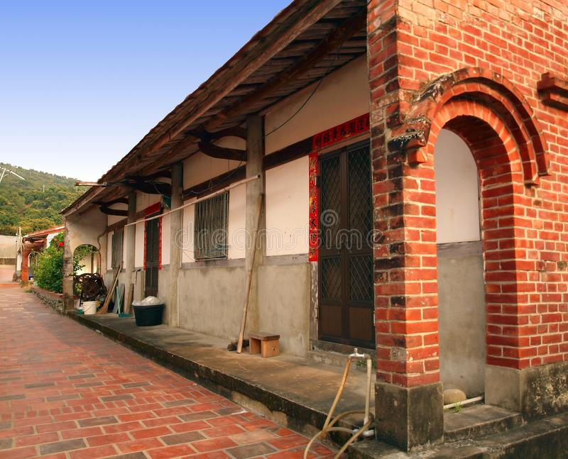 Old Chinese Farmhouse royalty free stock photos