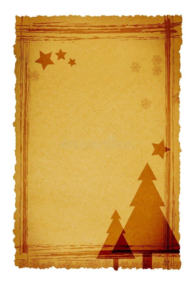 Download Old christmas background stock illustration. Illustration of textured - 3998243