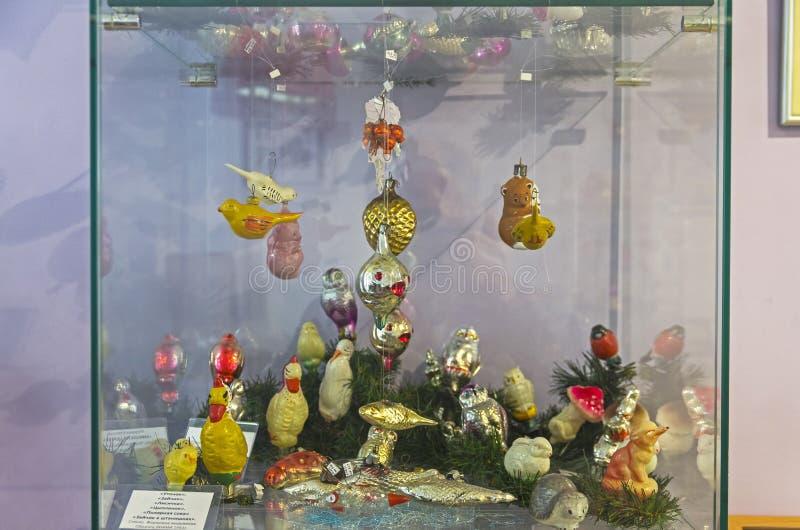 Old Christmas toys. royalty free stock photo