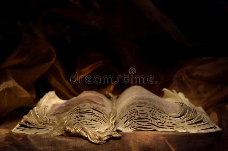 Old chronicle still life royalty free stock images