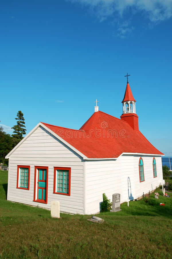 Free Old Church And Cemetery Of Tadoussac Stock Photos - 20526073