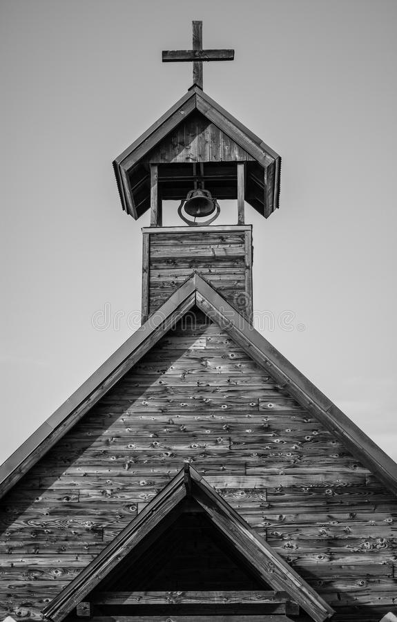 This Old Church. An old church in Arizona royalty free stock photo