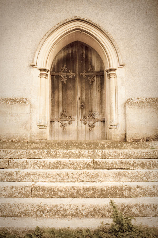 Free Old Church Door Royalty Free Stock Photography - 20557137
