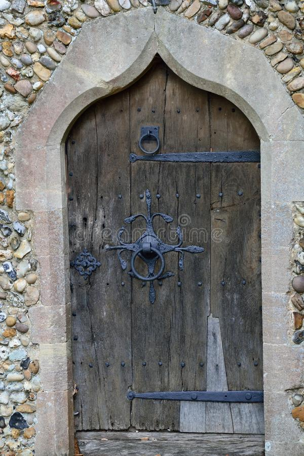 Free Old Church Door Royalty Free Stock Images - 44051149