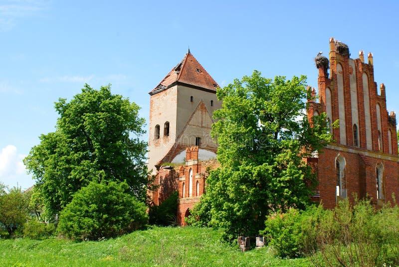 Download An Old Church In Dvorkin (Fridenburg), Kaliningrad Stock Image - Image: 14476175