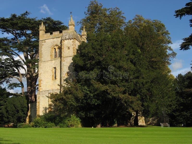 Old church at Ettington, Warwickshire stock image