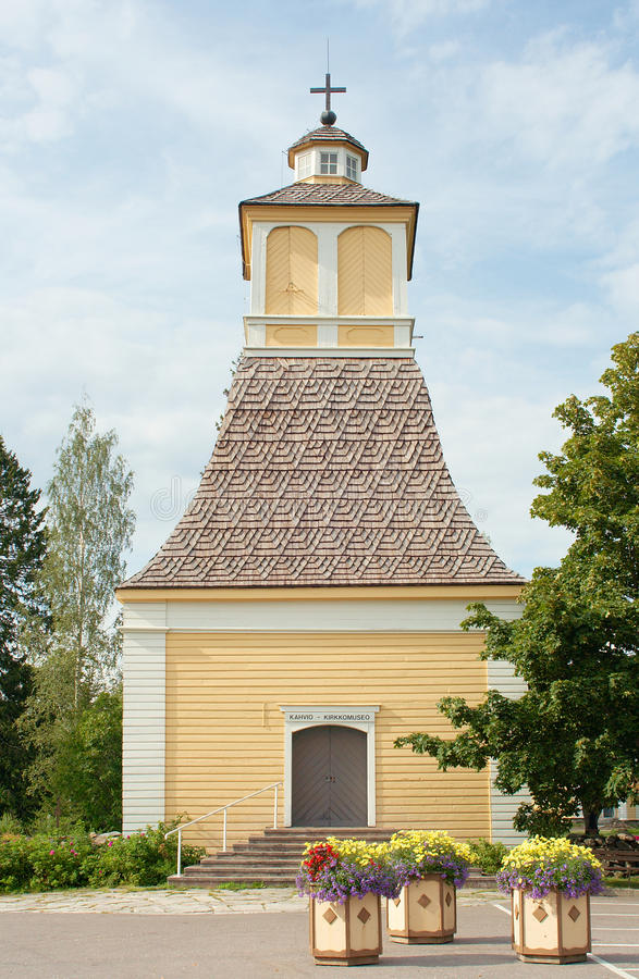 Download Old church Finland stock photo. Image of small, exterior - 15060772