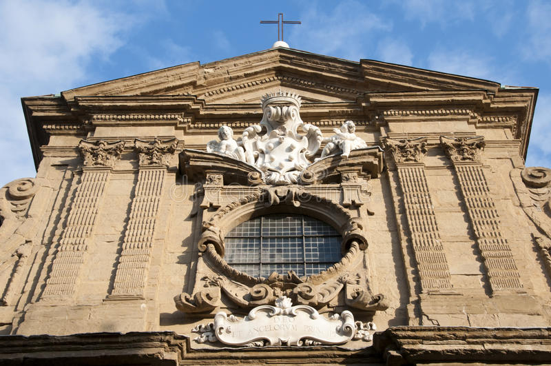 Old church in Florence royalty free stock photography