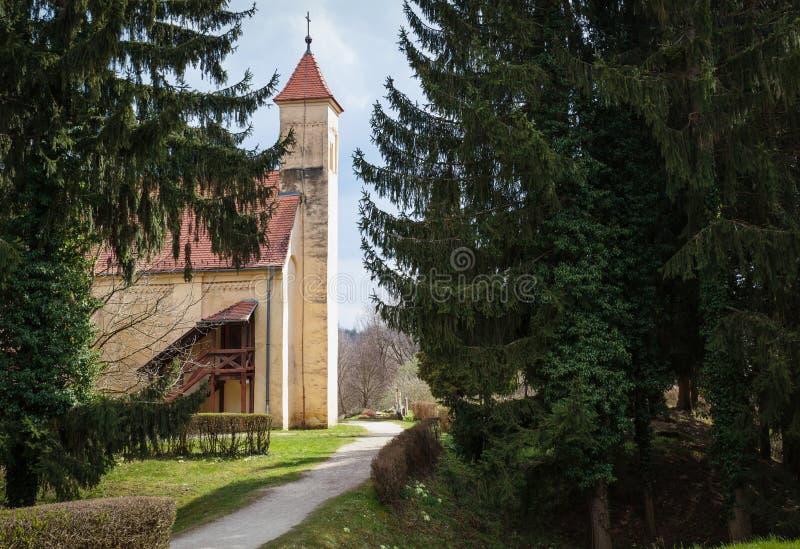 Old church landmark royalty free stock image
