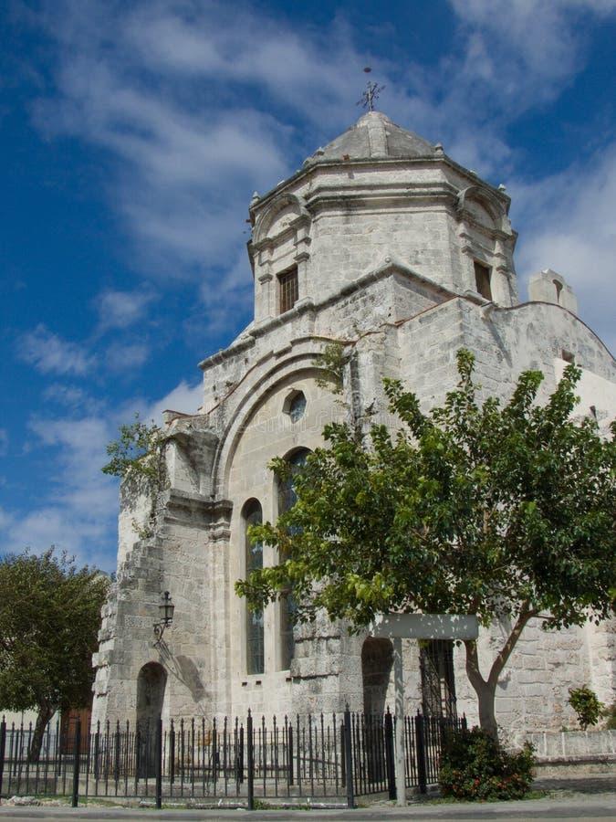 Free Old Church In Havana, Cuba Stock Photo - 5019750