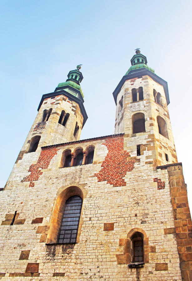 Download Old church in Krakow stock image. Image of catholic, architecture - 25337135