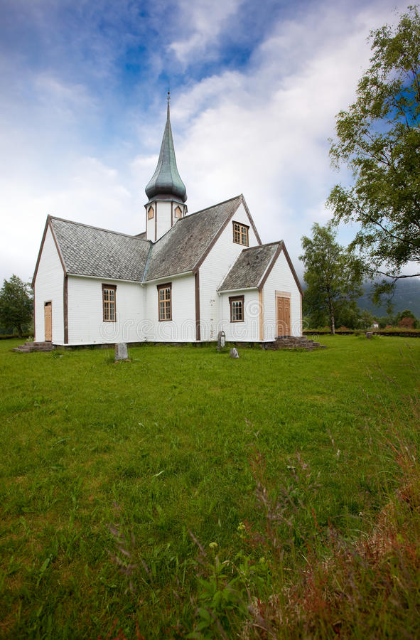 Old Church Norway stock images