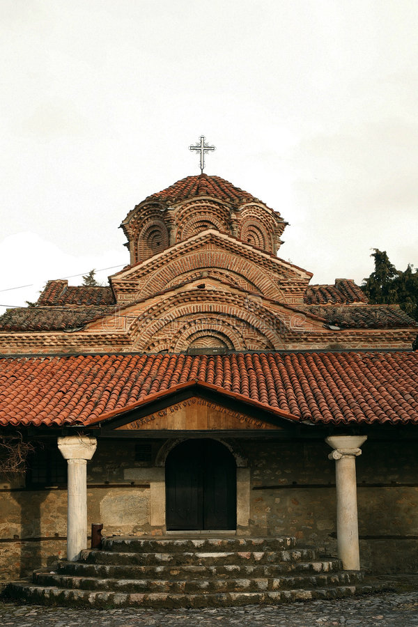 Download Old church in Ohrid stock photo. Image of glagolic, empire - 3303000