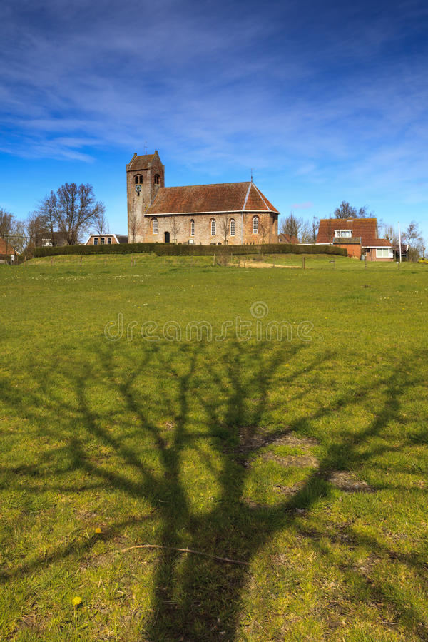 Free Old Church On A Hill Stock Image - 19181151