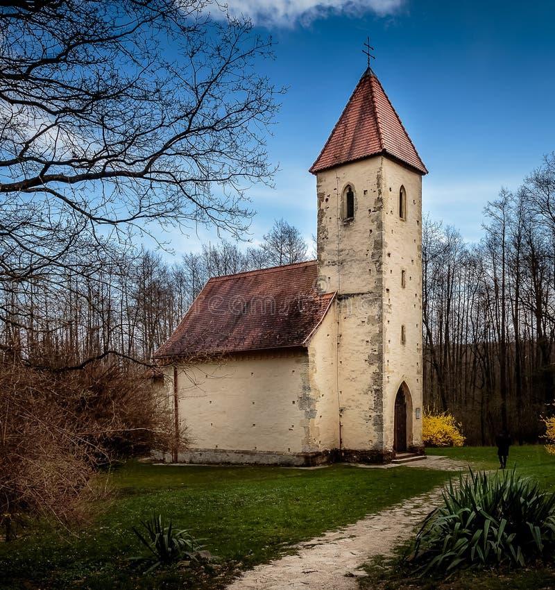 Old church landmark royalty free stock photos