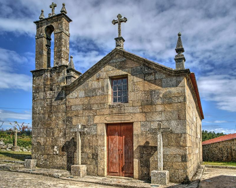 Download Old Church Of Sanfins De Ferreira Stock Image - Image of portuguese, sanfins: 95570483