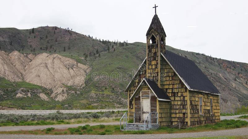 Old Church Spences Bridge, British Columbia, Canada. Old Church at Spences Bridge, British Columbia, Canada on Highway 97 stock images