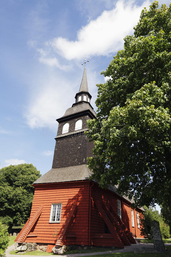 Download Old Church In Sweden Stock Image - Image: 26396101