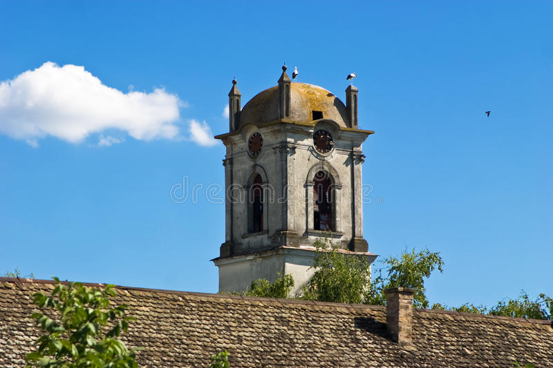 Old Church Tower stock image