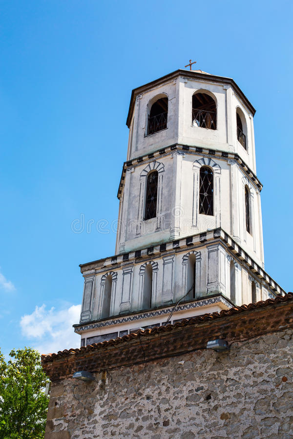 Free Old Church Tower In Plovdiv City, Bulgaria Royalty Free Stock Image - 54995166
