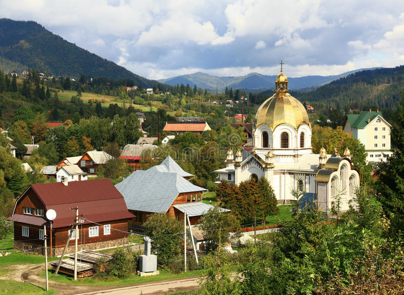 Download Old church stock photo. Image of landscapes, ukraine - 34475520