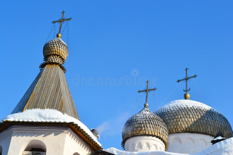 Old church in Veliky Novgorod.