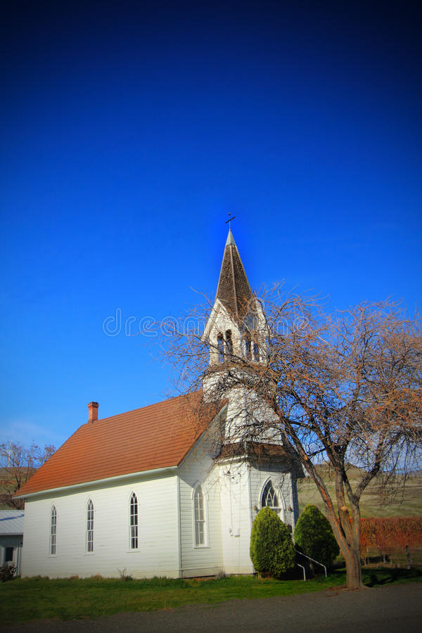 The Old Church royalty free stock photo