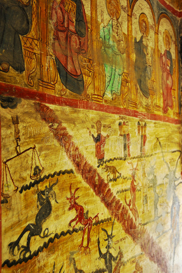 Free Old Church Wall Painting Stock Photo - 11100510