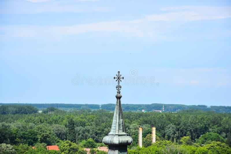 Old churches in Novi Sad city.  royalty free stock photos