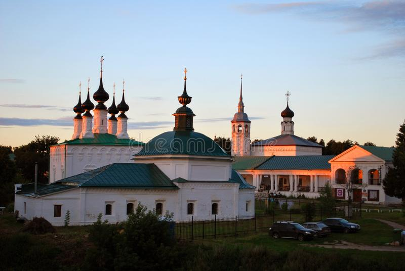 The old churches in Suzdal. Vladimir region, Russia royalty free stock image