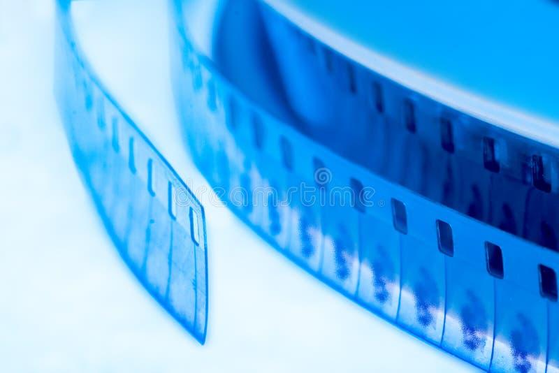 Old cinema film 16 mm royalty free stock photo