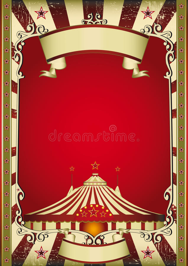 Old circus royalty free illustration