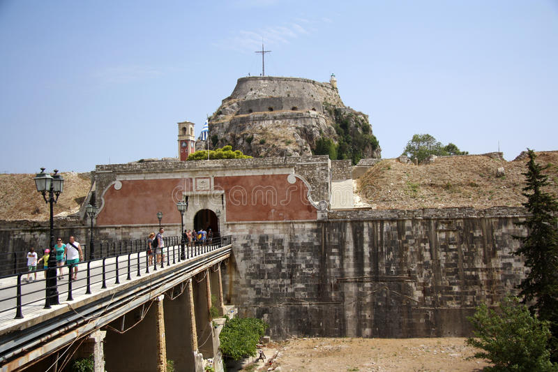 Old Citadel In Corfu Town (Greece) Editorial Stock Photo