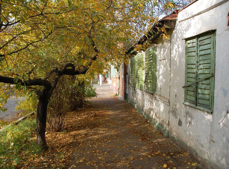 Download Old city stock image. Image of stone, environment, leaf - 4844017