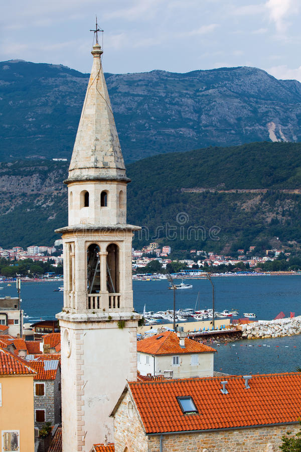 Old city, Budva stock photo