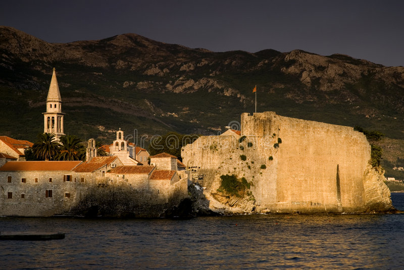 Download Old city,budva stock image. Image of shutter, panorama - 6184137