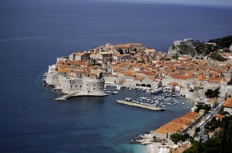 Download Old City Of Dubrovnik And Adriatic Coast. Stock Photo - Image: 7502176