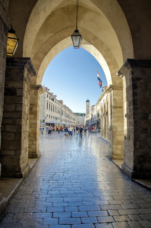 Download Dubrovnik - Croatia editorial stock photo. Image of historic - 30020983