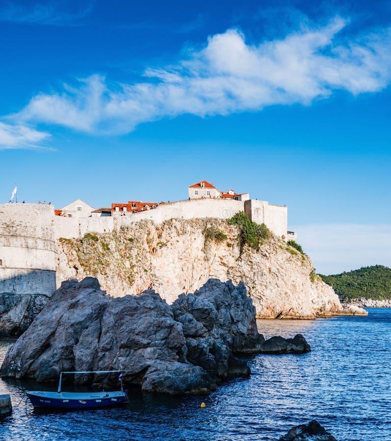 Old City of Dubrovnik in Croatia stock image