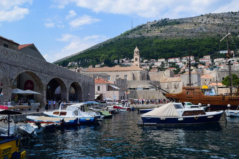 Old city of Dubrovnik royalty free stock photography