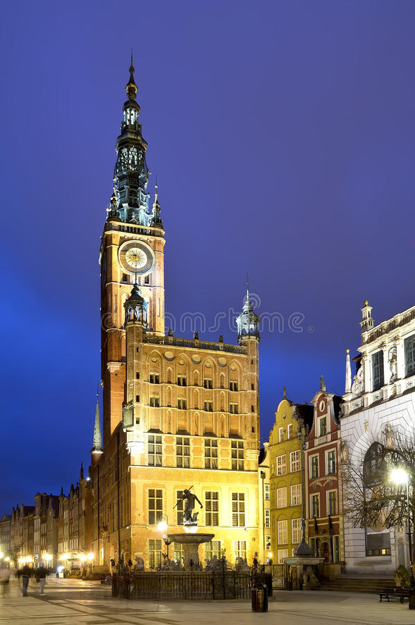 Old city hall in gdansk