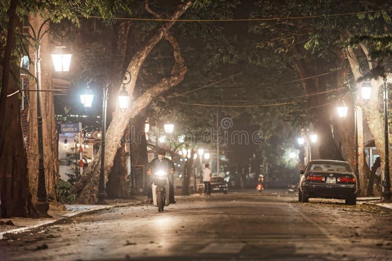 Old city of Hanoi stock photos