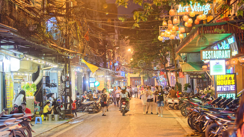 Old City of Hanoi stock images
