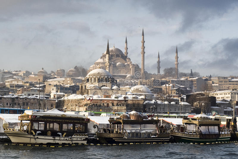 The old city of istanbul stock photography