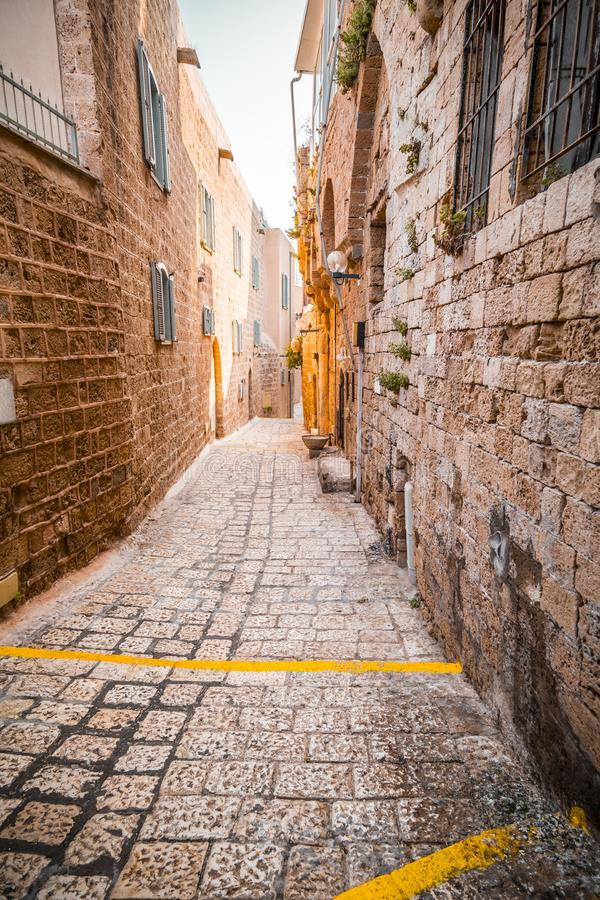 The old city of Jaffa, Israel. The old city of Jaffa, an old Arab village near the modern city of Tel Aviv, Israel. Jaffa is a popular touristic spot with stock images