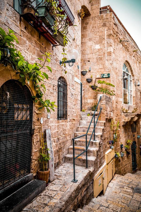 The old city of Jaffa, Israel royalty free stock images