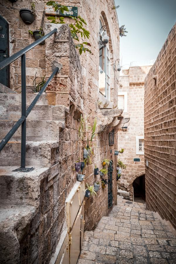 The old city of Jaffa, Israel royalty free stock photography