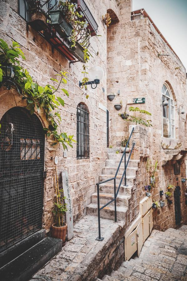 The old city of Jaffa, Israel royalty free stock image
